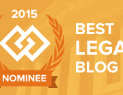best legal blog nominee