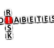 3D Diabetes Risk Crossword on white background